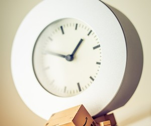 clock, toy, and danbo image