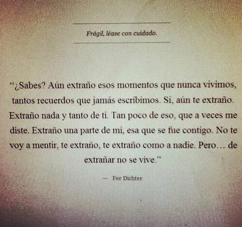 extraño.. shared by Agusti. on We Heart It