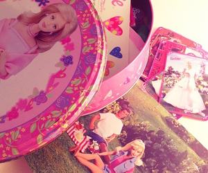 barbie, card, and book image