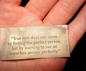 imperfect, perfect, and love image