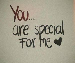 love, special, and you image