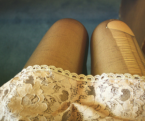fashion, lace, and legs image