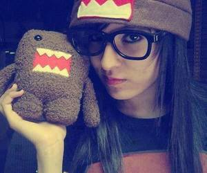 brown, domo, and girl image