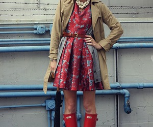 blonde, trench, and fashion image
