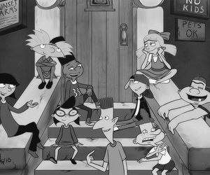 hey arnold, cartoon, and arnold image