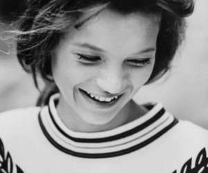 kate moss, model, and smile image