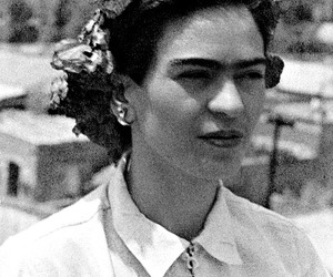 frida kahlo, Frida, and black and white image