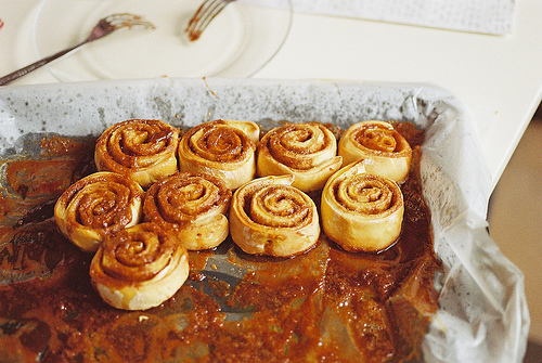 food, sweet, and Cinnamon image