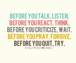forgive, quit, and talk image