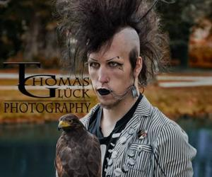 deathrock, diy, and gothic image