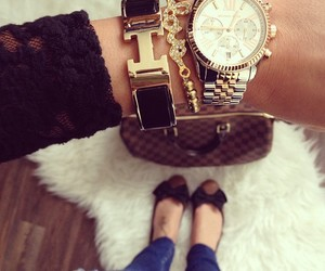 bracelet, Michael Kors, and fashion image