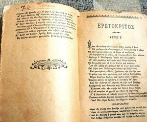 book, old book, and greek quotes image