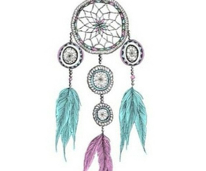 Dream, dreamcatcher, and overlay image