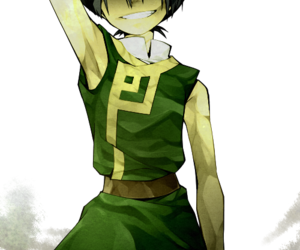 anime, avatar, and green image