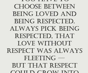 quote, love, and respect image