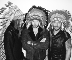 30 seconds to mars, jared leto, and 30stm image