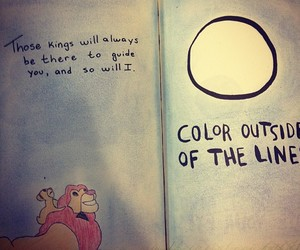 disney, drawing, and quote image