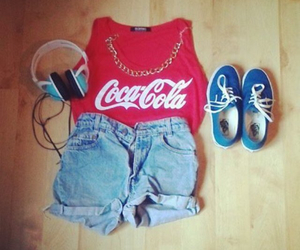 coca cola and outfit image