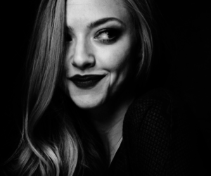 amanda seyfried, beautiful, and black and white image