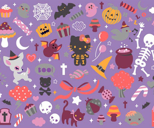 Halloween, hello, and kawaii image