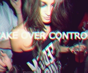 party, girl, and take over control image