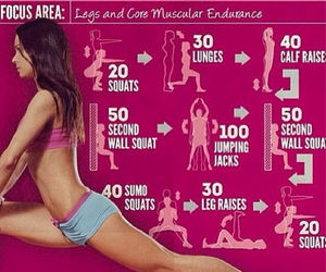 exercise, healthy, and skinny image