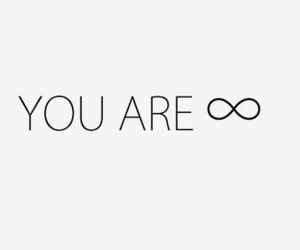 infinity, quote, and love image