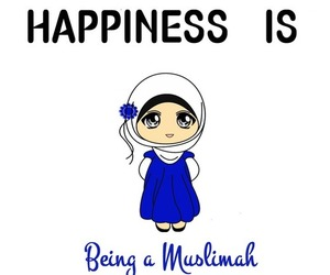 muslim, happiness, and islam image
