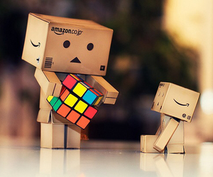 danbo, cube, and box image