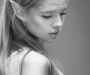 beautiful, photography, and elf image