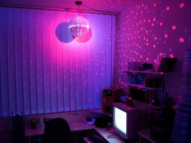 disco, disco ball, and light image