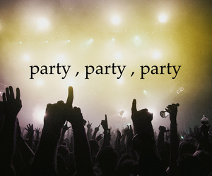 fun, party, and love image
