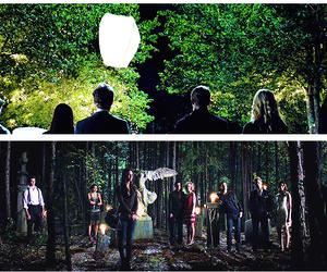 couple, elena, and Vampire Diaries image