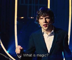 jesse eisenberg, magic, and now you see me image
