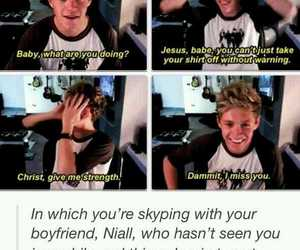 skype, horan, and niall image