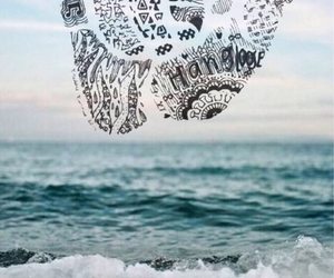 beautiful, ocean, and transparent image