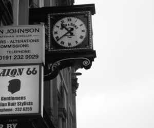 black and white, newcastle, and photography image