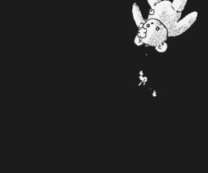 alone, bear, and manga image