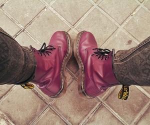 boots, dr martens, and morado image