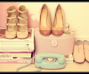 shoes, shopping, and vintage image
