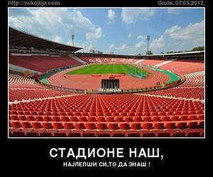 Belgrade, Serbia, and stadion image