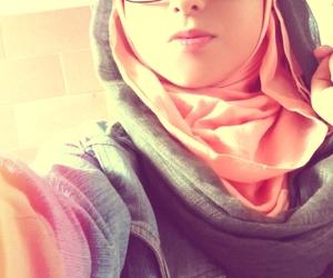 glasses, hijabster, and hijab image