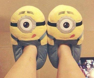 minions and slippers image