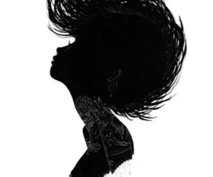 silhouette, art, and charmaine olivia image