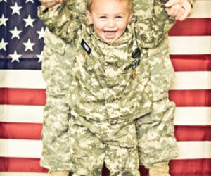 baby, boy, and army image