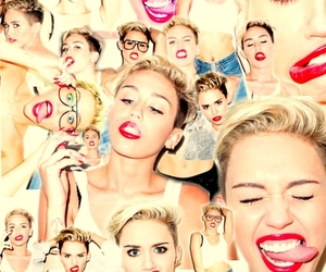 beautiful and miley cyrus image