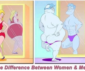 woman, men, and difference image