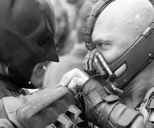 b & w, black and white, and batman image