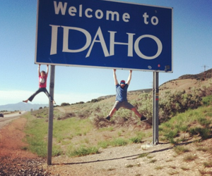 family, idaho, and welcome image