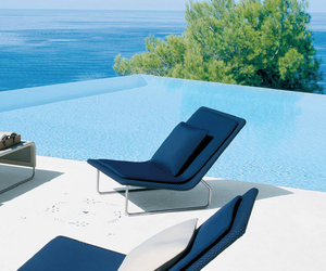blue and pool image